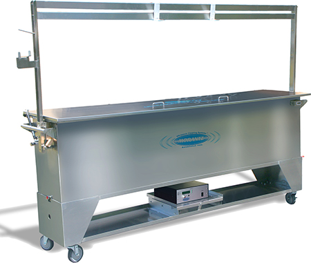 ultrasonic blind cleaning